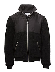 PS16 STEIN FLEECE JACKET - BLACK - BLACK