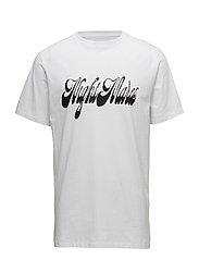 Piett t-shirt w.print - WHITE