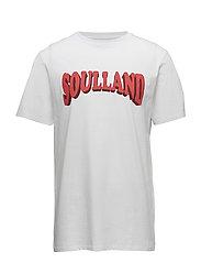 Ozzel t-shirt w.print - WHITE