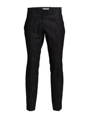 Holm Møller pants - Black w.slubs