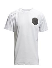 PF15 MESH TEE - WHITE/BLACK - WHITE/BLACK