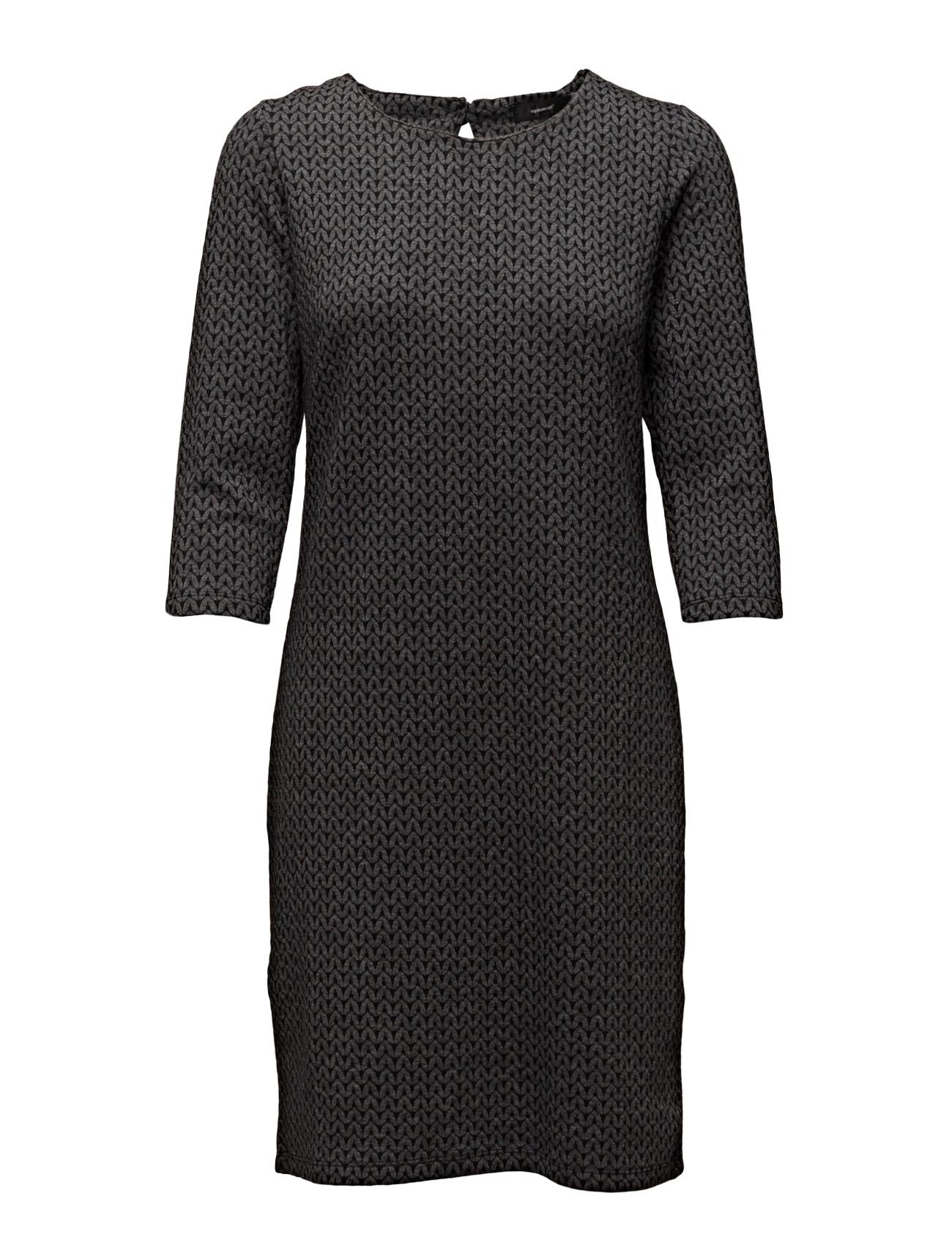 Neba Soyaconcept Korte kjoler til Damer i Storm Grey Melange Combi
