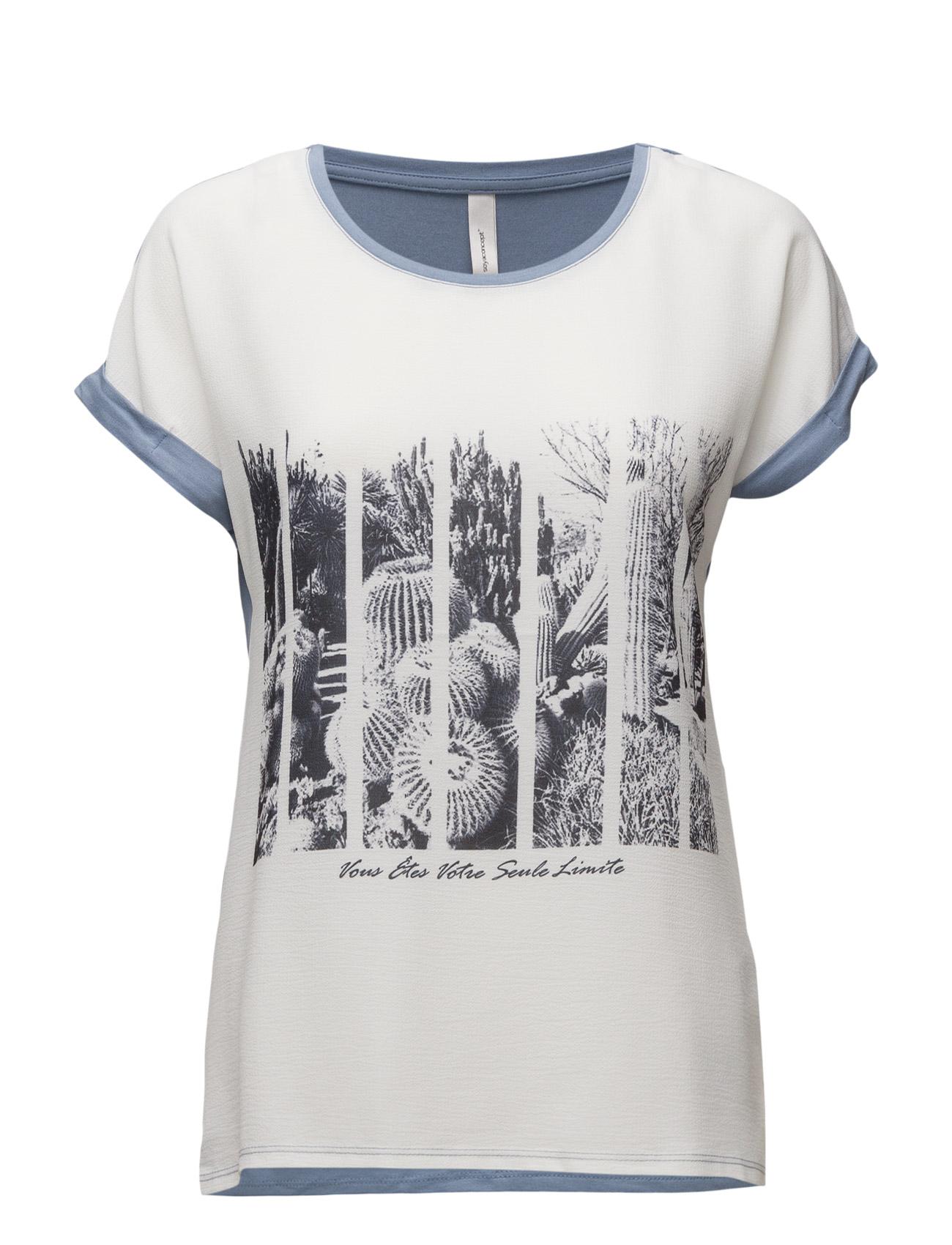 Ragnhild Soyaconcept T-shirts & toppe til Kvinder i Ocean Blue Combi