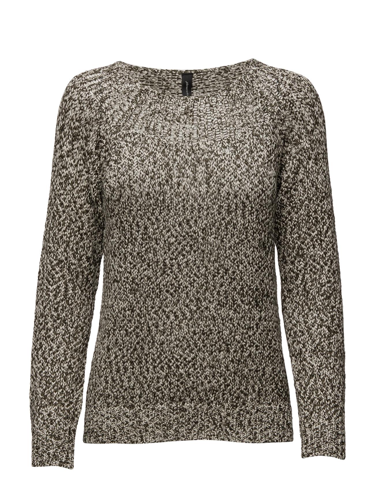 Nuria Soyaconcept Sweatshirts til Kvinder i Mørk Oliven Combi
