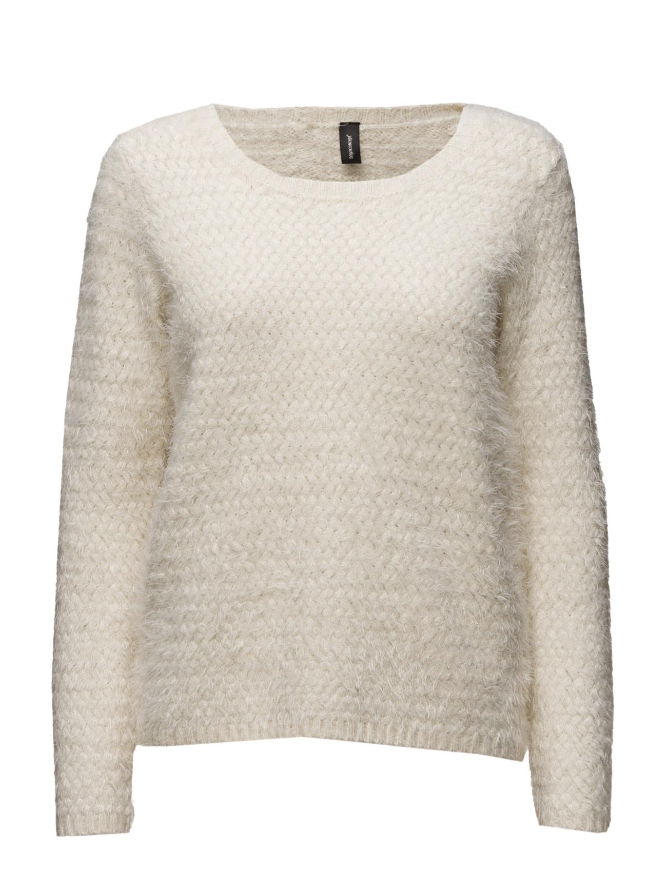 Grit Soyaconcept Sweatshirts til Kvinder i Antique White