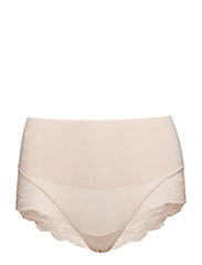 LACE HI-HIPST UNDIE-TECTABLE - SOFT NUDE