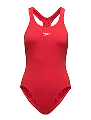 SPEEDO END+ MDLT 1PCE AF, BLACK 32 - FED RED