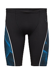 FIT GRAPHIC JAMMER AM - BLACK/BLUE