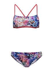 CLASH ATTACK 2 PIECE CR TF - RED/PINK
