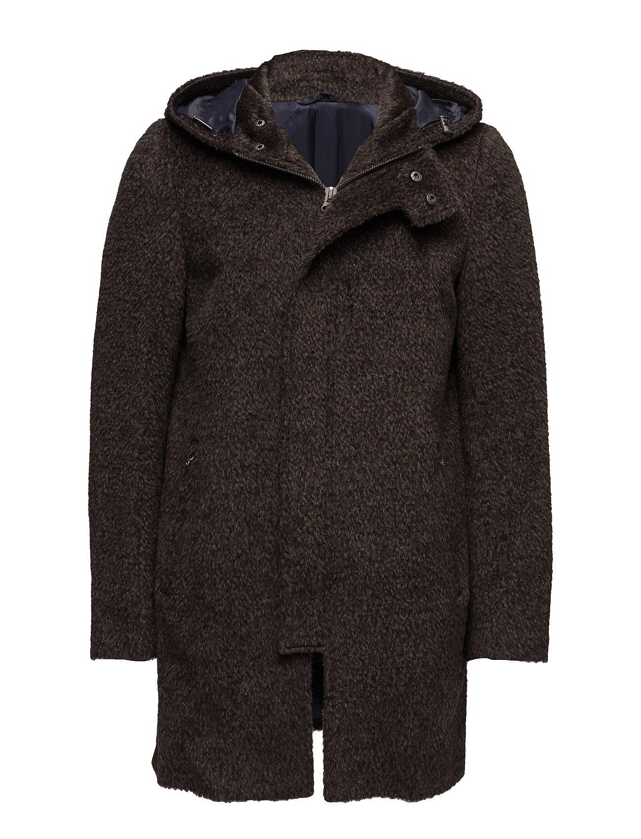 Alpaca Coat - Duff SPO Frakker til Herrer i Mørkebrun