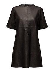 Ivy Oversized Dress - BLACK