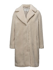 Camille Coocon Coat - OFF WHITE