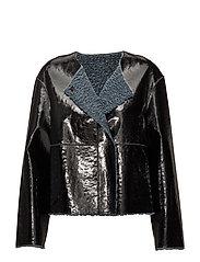 Ines Simple Jacket - DOVE BLUE