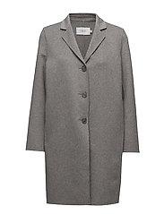 Celine Coat - LIGHT GREY