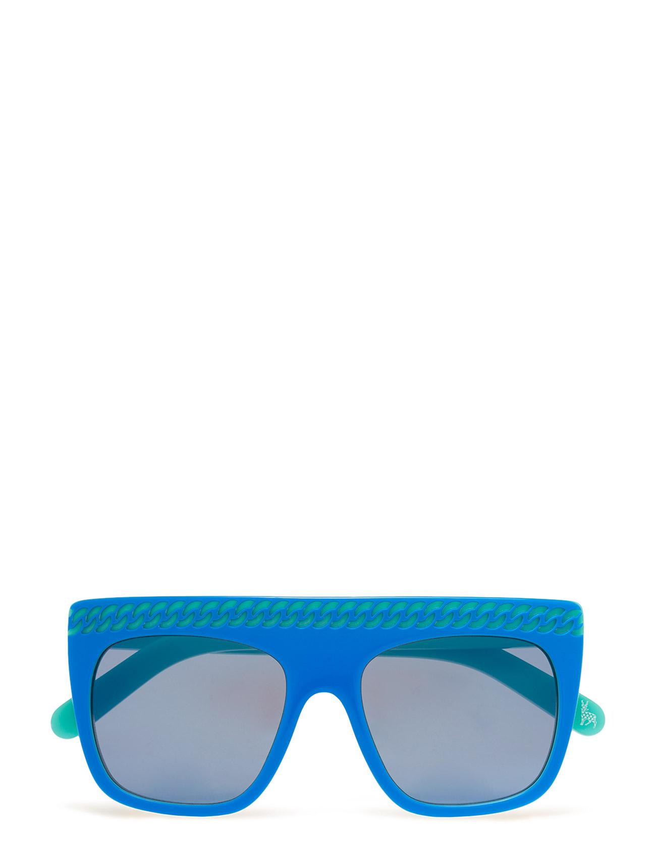 Sk0002s Stella McCartney Eyewear Solbriller til Børn i Blå