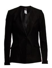 Stella Nova Leather Trimmed Suiting Jacket