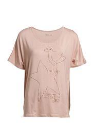 Jersey T-shirt - Rose Smoke