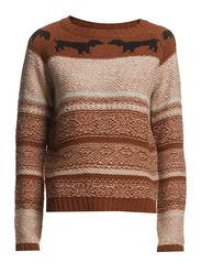 Ottos Knit Sweater - Otto brown