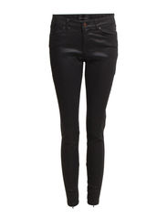 Metallic & Coated Jeans - Black