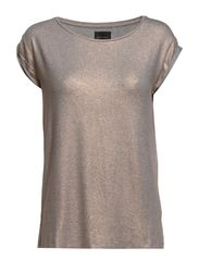 Foil Jersey T-Shirt - Pearl Silver