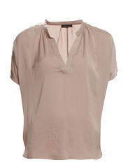 Pretty Straight Blouse - Beige