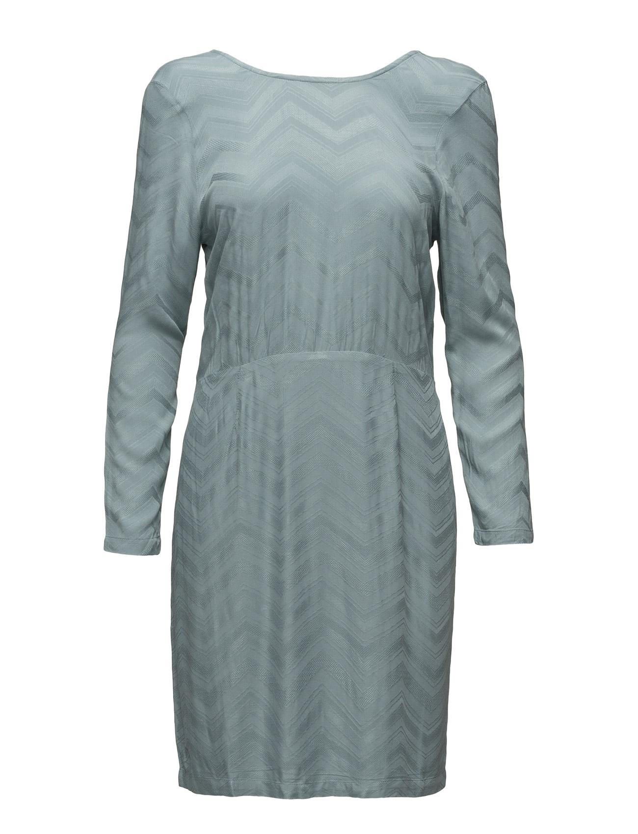 Saga Dress With Buttons In Back Stig P Knælange & mellemlange til Damer i