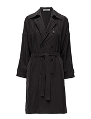 INDIRA Trenchcoat - 99 BLACK