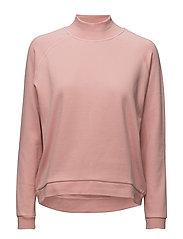 Kirsa High neck sweatshirt - ROSE