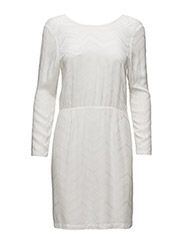 Saga Dress with buttons in back - 2-OFF WHITE