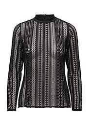 Bjorg Lace blouse - 99-BLACK