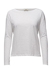 Dorrie Long sleeve t-shirt - 1-WHITE