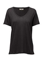 Nanna T-shirt - 96-WASHED BLACK