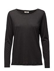 Luna Long sleeve t-shirt - 96-WASHED BLACK