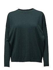 Vanessa Round neck knit - GREEN