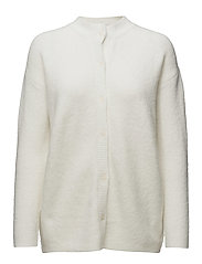 Oyoo Knit Cardigan - 2/OFF WHITE