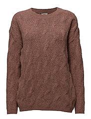 Ani knit sweater - MISTY ROSE 33