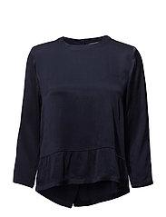 Estrid blouse - MIDNIGHT BLUE 56