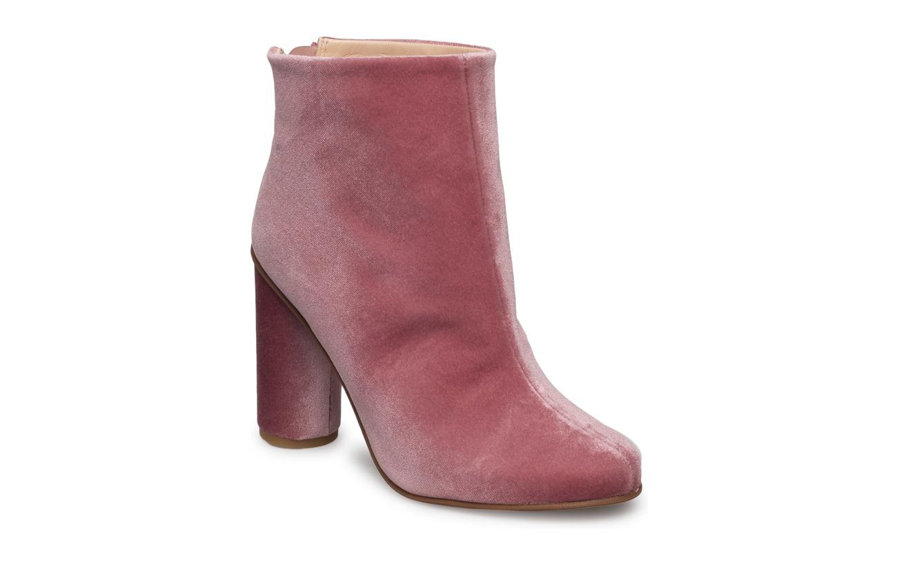 STINE GOYA Luna, 318 High Boots Rosado Velvet