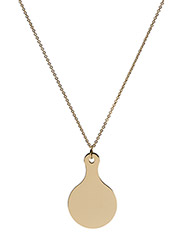 Mirror Necklace - GOLD