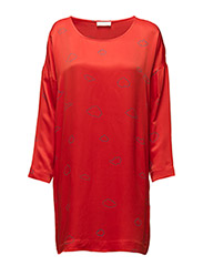 Carla, 181 Clouds Viscose - CLOUDS RED ORANGE
