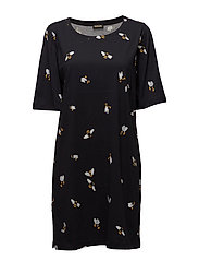 Edith, 255 Bees Jersey - BEES BLACK
