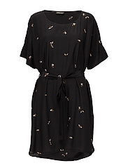 Smilla, 260 Bees Silk - BLACK