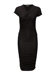 Brush Dress, Orions - BLACK