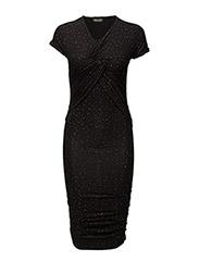 Brush Dress, Orions - BLACK