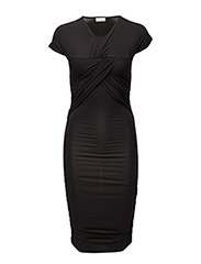 Brush Dress - BLACK