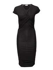 Brush Dress - BLACK
