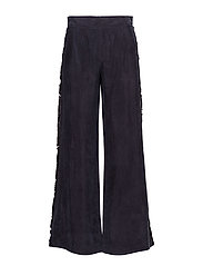 Malin, 302 Fringed Cupro - 1608 MIDNIGHT