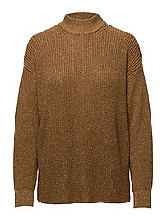 Fidan, 304 Chunky Metallic Knitwear - 1188 GOLDEN