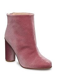 Luna, 318 High Boots Rosado Velvet - ROSADO VELVET