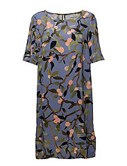 Lee, 330 Peach Tree Viscose - PEACH TREE BLUE